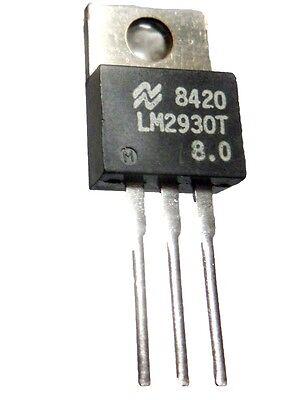 LOT DE 10 REGULATEURS LOW DROP LM2950-5,0 v EN BOITIER TO-92