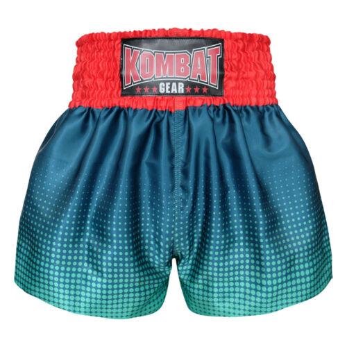 Kombat Gear Muay Thai MMA Shorts Premium Satin KBT-MS001-40