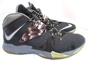 b99e8e9d3af NIKE ZOOM..SOLDIER VII..BLACK   GRAY..SNEAKERS..LEBRON..609679-001 ...