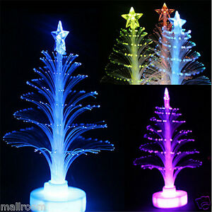 Details zu Color Changing Christmas Xmas Tree LED Light Lamp Home Party  Decoration Mini