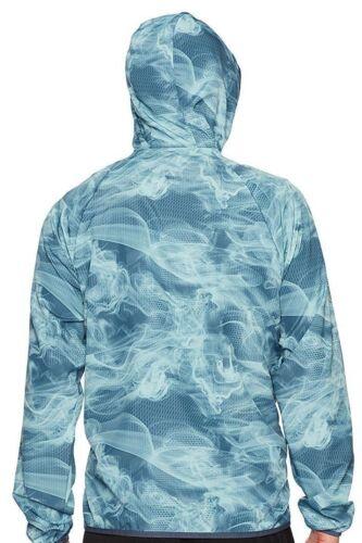 New Balance Storm Bnwt 889969973682 Heren Maat M Hooded Windcheater Jacket Kleur Blue Dry d5PwUq