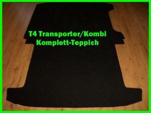 Komplett-Teppich-Fussmatte-VW-T4-Transporter-Kombi-Caravelle