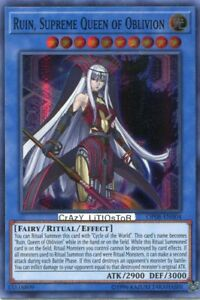 Occasion card yu gi oh ruin queen supreme of oblivion op08-fr004