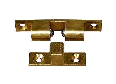 1 Stk. Kugelschnäpper für Möbeltüren Messing Blank  70mm - Nr.70