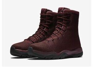 c72ef87c74842f NEW Sz 9 Nike Air Jordan Future Boots Night Maroon Red Burgundy ...