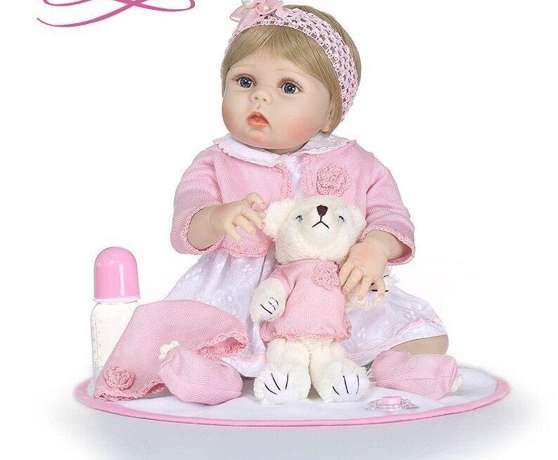 Doll Reborn Toys For Boy Girls Christmas Gift Full Silicone Body Realistic Dolls