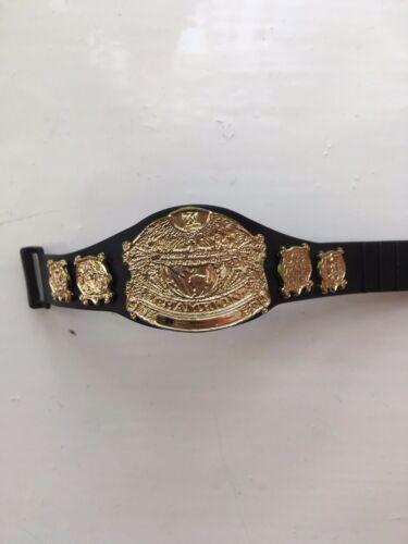 Rare WWE incontesté Championnat Ceinture JAKKS Wrestling Figure accessoire