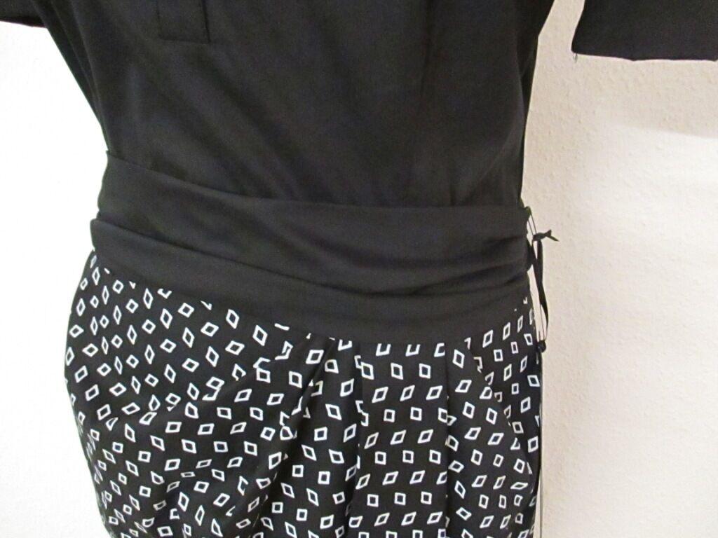 Riani abito estivo in nero bianco, cotone, taglia 38 38 38 ea57ca