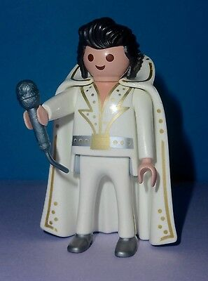 Playmobil Elvis Presley The King of Rock & Roll 5157 Singer Complete