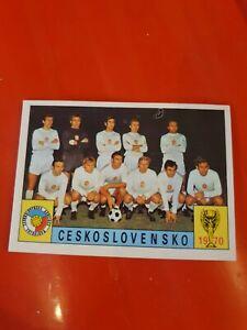 Panini Mexico 70 - Czechoslovakia Team