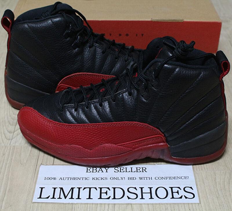 new product 8cd91 8ecc3 1997 Nike flu Air Jordan 12 XII flu Nike Game negro rojo 130690-061 og US 9  playoff taxi baratos zapatos de mujer zapatos de mujer 86bdb2