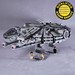 Display-Stand-for-Lego-75105-7965-75212-7190-Millennium-Falcon-2-stands-only