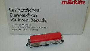 Marklin-Z-Modele-Special-Foire-2003-Ferme-Marchandises-034-Initie-1993-2003-gt-Neuf