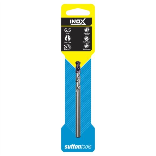 Sutton Tools STAINLESS STEEL INOX DRILL BIT Step Core 6mm 7mm Or 7.5mm 6.5mm