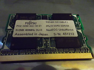 Used palmrest assembly//glidepad//biometric pulled from Fujitsu lifebook P7120D