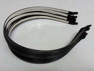 12-Wholesale-lot-satin-metal-5mm-head-hair-band
