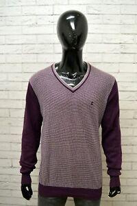 Maglione-Uomo-CARRERA-Taglia-XL-Felpa-Cotone-Pullover-Sweater-Man-Pull-Homme