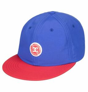 DC-Shoes-Fountains-Casquette-snapback-Homme-ONE-SIZE-Bleu