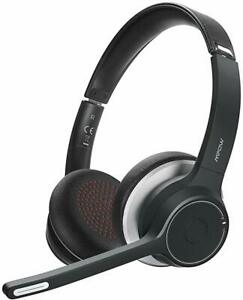 Mpow HC5 V5.0 Bluetooth Headset Noise Canceling Wireless Office Phone Headphones