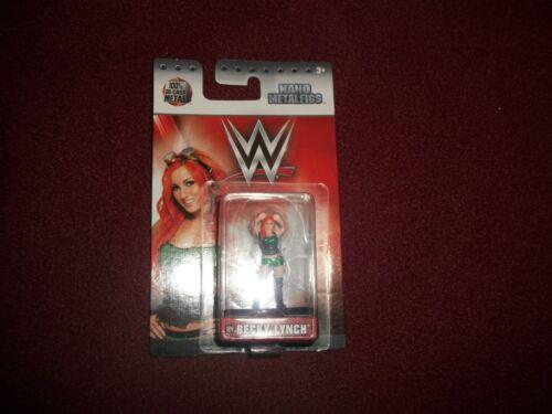Jada Toys Nano metalfigs WWE Becky Lynch W19 NEUF de la marque FIGURE LIBRE navire