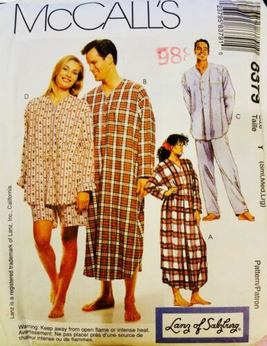 U PICK Mens Misses Kids Pajamas Scrubs /& Loungewear Sew Pattern  UC