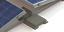 Indexbild 3 - Aerodynamisches-Flachdach-Montagesystem-Ost-West-4er-Gestell-mit-Ballasthalter