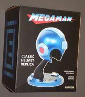 Megaman Classic Helmet Replica Red Mega Man Game Reproduction Capcom Sdcc