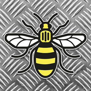 Mancunian-Bee-Sticker-Manchester-bee-Proud-to-be-Mancunian-Car-Sticker-95x75mm