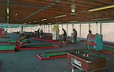 Lomma Miniature Golf Courses Built in Scranton PA Advertising Postcard