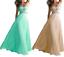 abito-da-cerimonia-donna-in-chiffon-damigella-vestito-lungo-elegante-festa-party miniatura 1