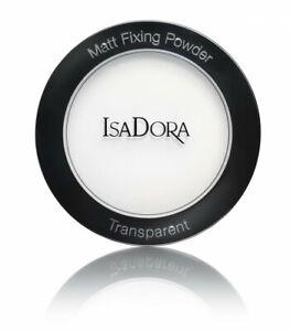 IsaDora-fissaggio-Cipria-Matt-Trasparente-assorbente-Soft-Focus-tutti-i-tipi-di-pelle