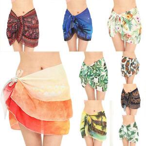 Fashion Womens Tassels Sunscreen Shawl Beach Bikini Wrap Coverup Skirt Swimsuit