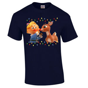 Tacky Christmas Sweatshirt Hermie and Rudolph Christmas Shirt Holiday Christmas Tacky Shirt oae8HIt