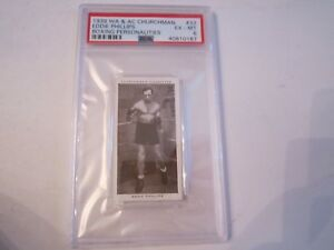 1938-EDDIE-PHILLIPS-33-WA-amp-AC-CHURCHMAN-BOXING-CARD-PSA-GRADED-PSA-6-BN-20