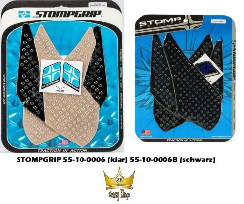 B Stompgrip traction tank pad yamaha yzf-r1 07-08 rn19 noir clair 55-10-0006