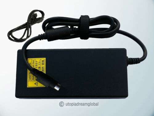 """4Pin AC Adapter For NEC MultiSync LCD2335WXM L234GC 23/"""" LCD Monitor Power Supply"""