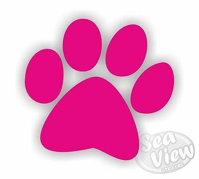 30 Dog Paw Print Car Van Bedroom Window Wall Stickers