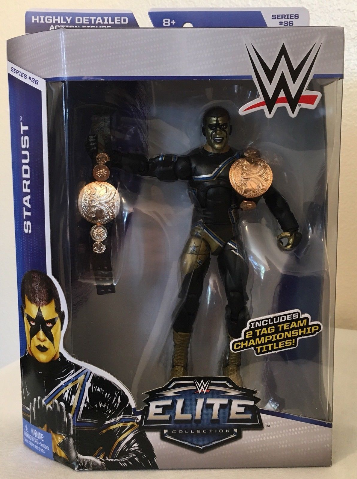 WWE ELITE STARDUST SERIES 36 MATTEL WRESTLING FIGURE BRAND NEW BOXED