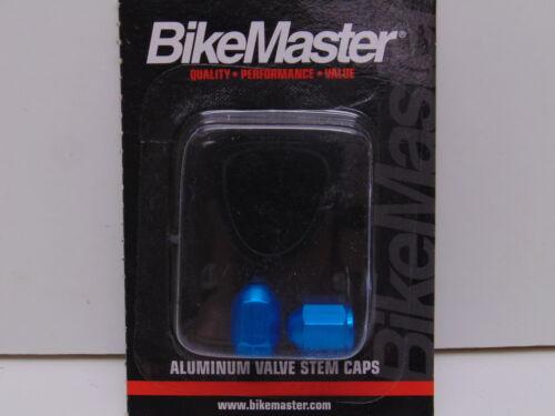 BikeMaster Valve Caps Aluminum Blue