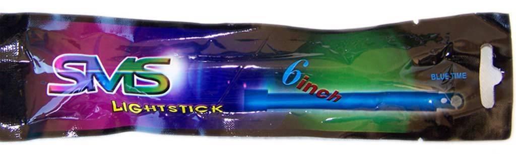 Par de Barras luz quimica azul Multiusos - - - 8 H. iluminacion portatil militar c66f8d