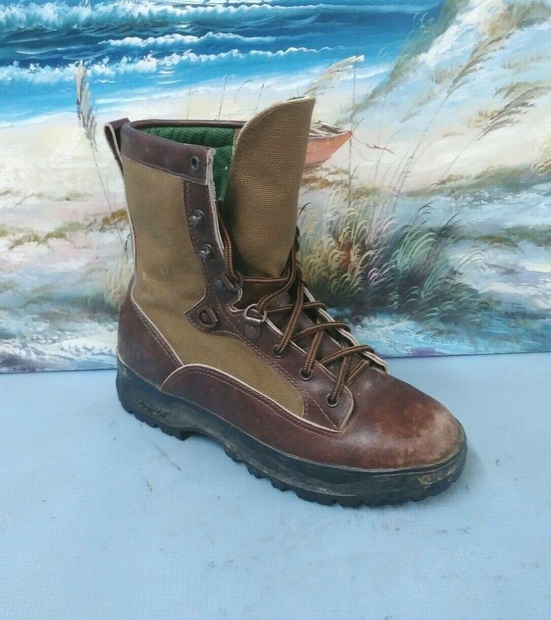 Danner grande madera para hombre M marrón Senderismo botas De Trabajo 50400 gramos de aislamiento