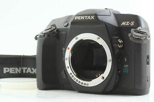 READ MINT] Pentax MZ-S Black SLR Film Camera Body w/ Strap From JAPAN #678