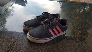 Adidas Kids Boys Girls Seeley J Shoes Sneakers Size 12.5 Black ...