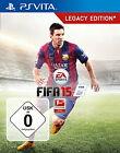 FIFA 15 -- Legacy Edition (Sony PlayStation Vita, 2014, Keep Case)