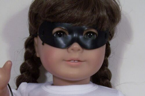 9 Color Costume MASK Red Black Blue Gold Silver For 18 American Girl Doll Debs