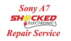 Sony A7 Repair Service - Impact / Water Damage WE CAN FIX IT !