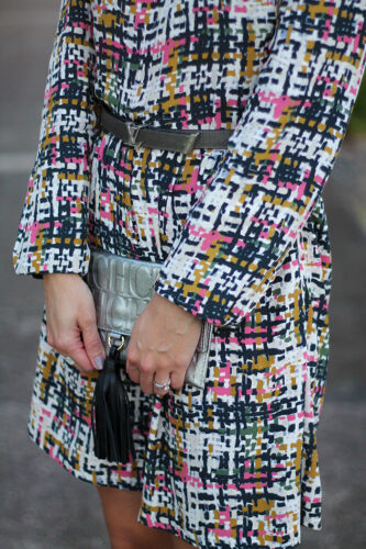 Bloggers Plaid Taglia Printed Geometric Tweed S Check 8 Zara Dress UqxFwpWBUf