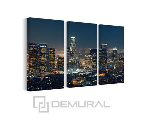 Lienzo de imagen imágenes gran ciudad en la noche imágenes de muro arquitectura b3d147