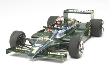 Lotus Type 79 1979 Martini Formula 1 1:20 Plastic Model Kit TAMIYA