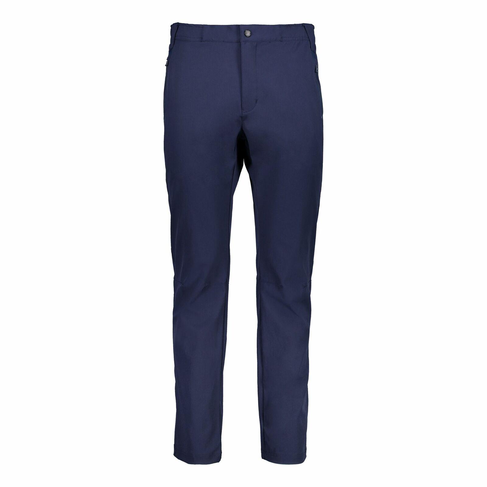 Funzione CMP Pantaloni wanderhosen si LONG PANT BLU SCURO elastici alla protezione dai raggi UV